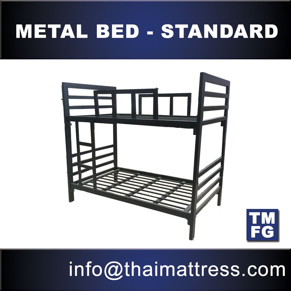 STRONG metal bunk beds high quality for hostel apartment school furniture