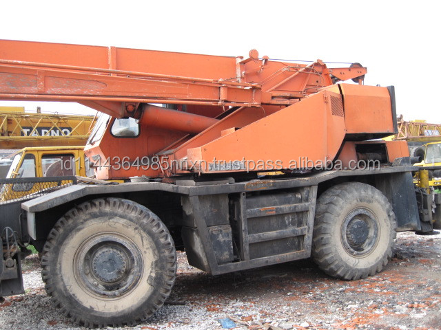 25 ton KATO rough terrain crane KR250H-IIIL Japan origin for sale