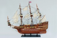SOVEREIGN OF THE SEAS WOODEN MODEL SHIP, DELICATED CRAFT OF VIETNAM - WOODEN HANDICRAFTS