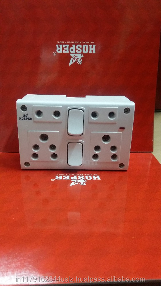 high-end decorative switch socket double power point socket outlet