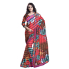 Fancy Printed Saree With Unstitch Blouse TS11010