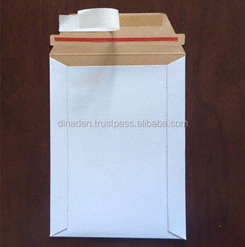 100 - 9x11.5 rigid photo mailers envelope stay flats
