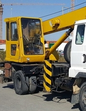 used crane 1995Y Samsung Tadano 8 ton truck Crane FOR Sale SC8H-2 in Korea