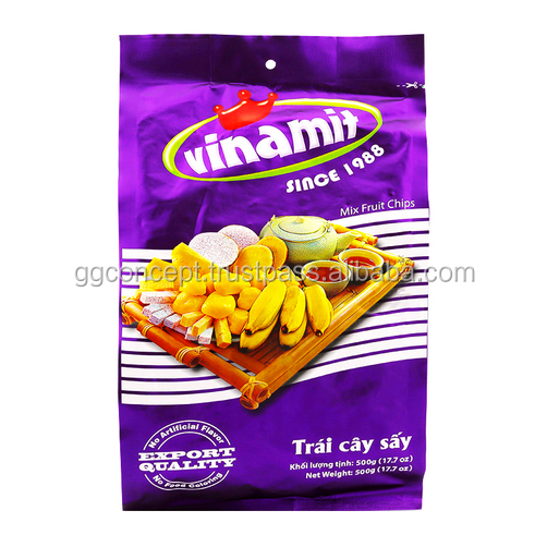 New product - Vinamit Mixed Fruit Chips 500g Bag / Wholesale snack /snack food / Dried