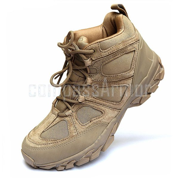 dbr-001 Outdoor training safety hiking boots khaki military desert boots