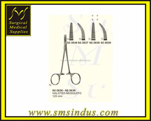Halsted Mosquito Artery Forceps Straight, Curved, serrated and Teeth