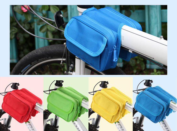 Waterproof Top Tube Bag with Mobile Phone Screen Touch Since 1997