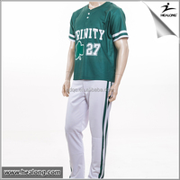 Healong Manufacturers Best Selling Baseball Jersey For Sale