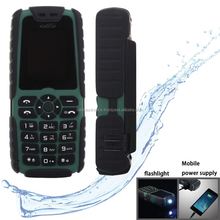 Dual SIM 2G GSM Mobile Phone, Flashlight Functions - Green