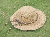 mixed colors Straw Children Hat