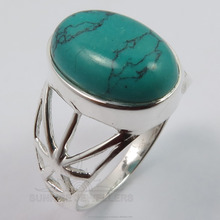 Wholesale Jewelry ! 925 Solid Sterling Sliver TURQUOISE (S) Gemstone Stunning Design Ring Any Sizes ! Best Gift Offers