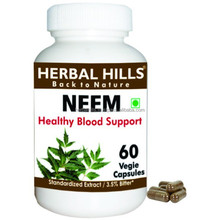 Blood Purifier Neam Leaf Veg capsules for Best tonic for Blood Health
