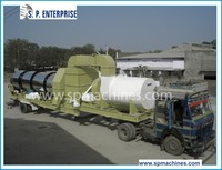 Made in India 30 TPH Portable Hot Mix Asphalt Plant