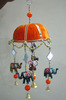 Event Party Theme Decoration Items Indian Traditional Art Work Wind Chimes Door Hangings