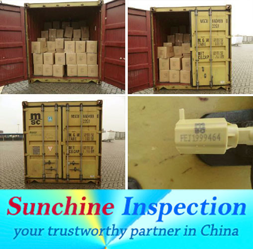 Per-shipment inspection service/Container loading check/Quality control