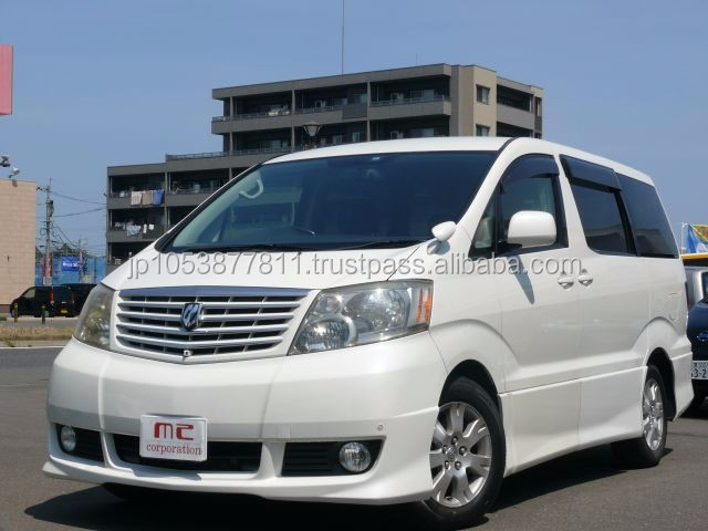 Popular used car toyota alphard japan picture 2002 with Good Condition