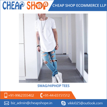 Premium Quality Short Sleeve Long Hip hop T Shirt at Low Market Price