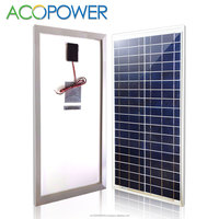 ACOPOWER 35W Polycrystalline Photovoltaic PV Solar Panel Module 12v Battery Charging