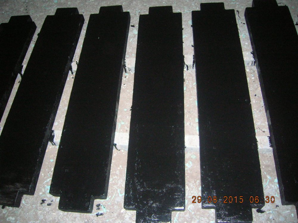 Elevator filler weight made by cast iron