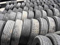 Used truck tyres and wheels