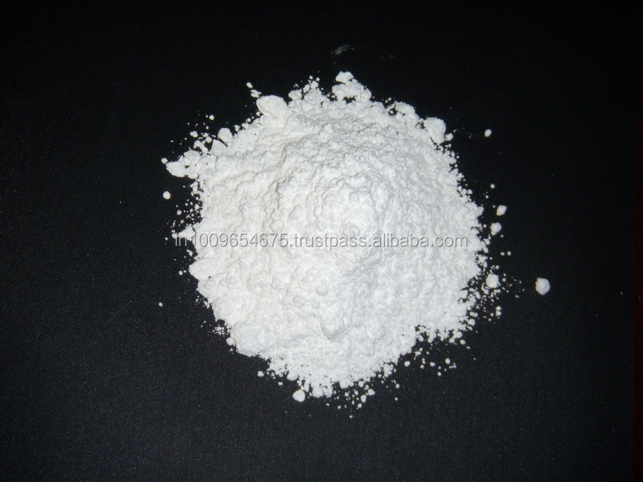 Milky white quartz powder