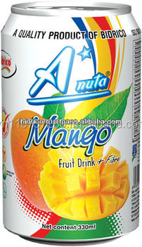 Mango Juice Drink - 330 ml - A*Nuta brand