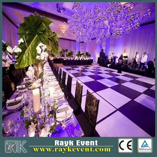 economic 2ft*2ft led dance floor tiles