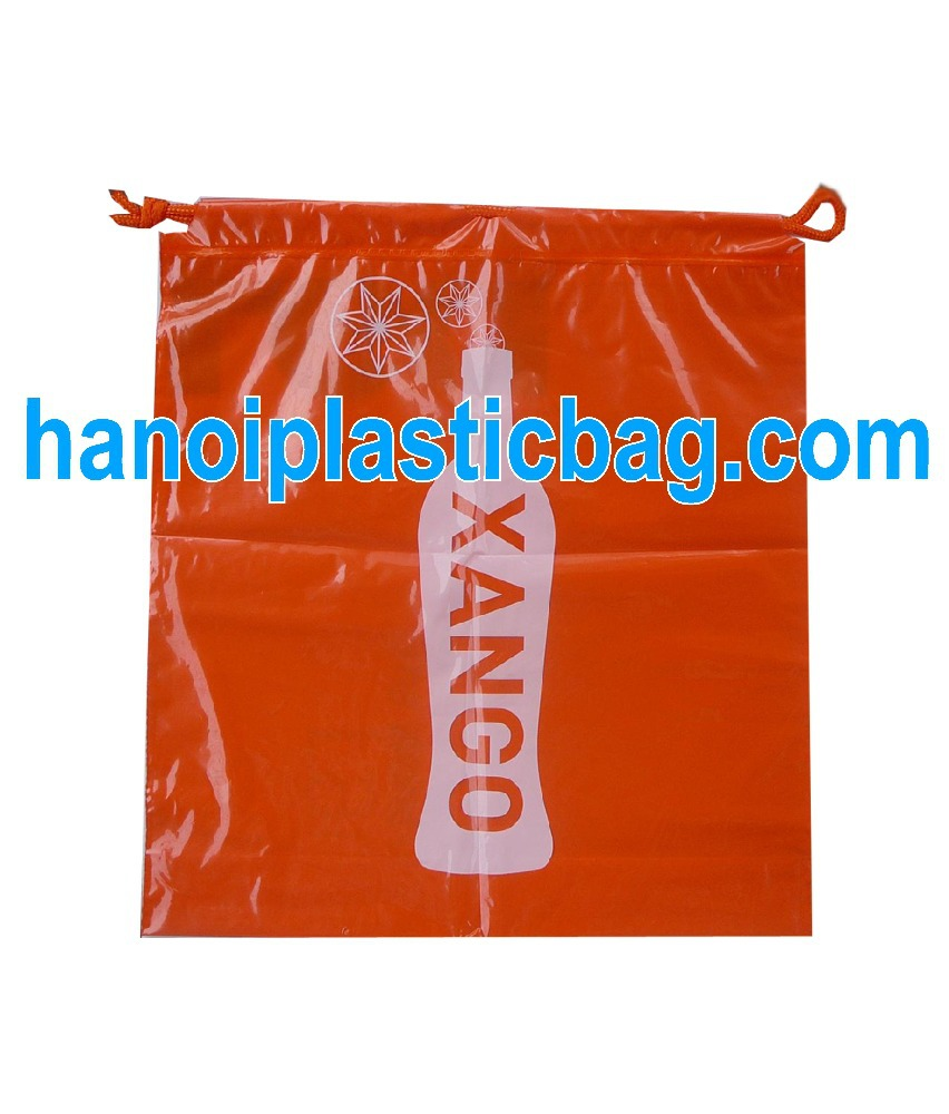 Best popular for garbage collecting factory good and cheap durable garbage plastic bag with drawstring in various colors