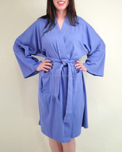Organic Cotton Bath Robe Night Gown Sleep Wear Night Dress Solid robe From India