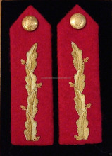 GORGETS SINGAPORE ARMY GENERALS GORGET COLLAR TAB RANK UNIFORM SHOULDER BOARD EPAULETTE