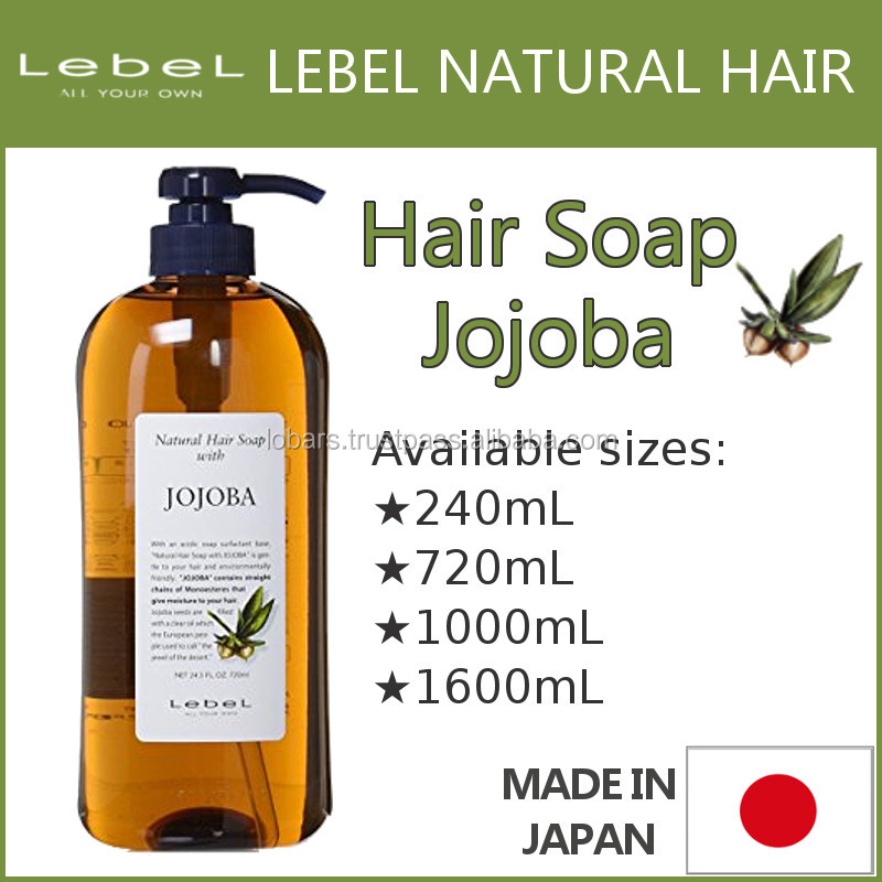 Lebel Natural Hair Soap Jojoba Best-selling and High quality hair growth shampoo for Professional use