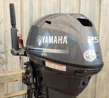 FREE SHIPPING FOR USED YAMAHA 25 HP 4 STROKE OUTBOARD MOTOR