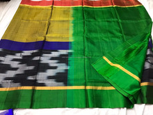 Silk Saree In Zigzag Model