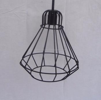 Metal Material Wire Hanging Pendant Lamp Shade. - Buy Pendant Light ...