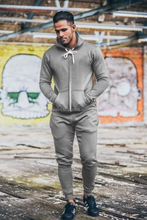 Cheap custom gym slim fit pain tracksuit /winter sport mens tracking suit wholesale , gym tracksuit