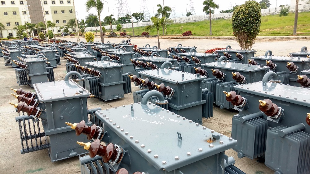 Three Phase 100 Kva AMDT- BIS Energy efficiency Level III - OIL cooled