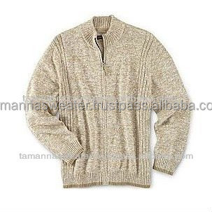 NEW MEN'S LONG SLEEVE HEAVY KNITTED CARDIGAN SWEATERS