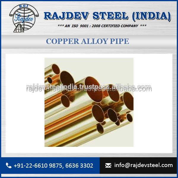 High Thermal Conductivity Copper Alloy Pipe