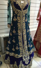 Bridal wedding Pakistani Lacha dress 2016-2017