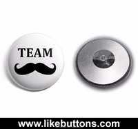 Magnetic Tin/tinplate Badge Button ------------ NOW 112 Designs YOU CHOOSE