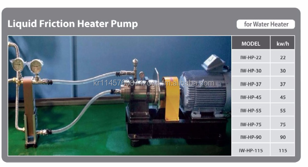 Liquid Friction Heater Pump for 75kw