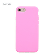 Ultra Thin Fashion Cute Candy Color Cover Moblie Phone Protection Shell Cases For Apple Iphone7/for iPhone7plus