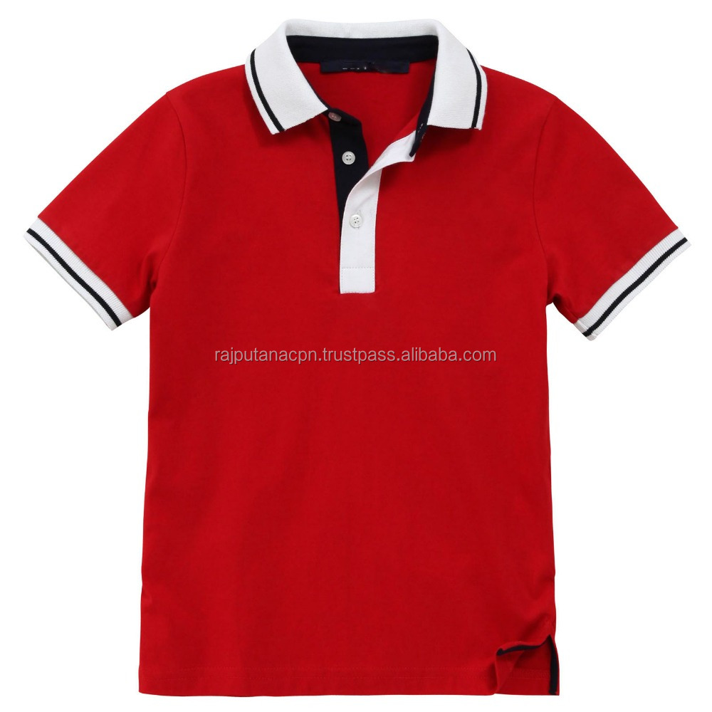 Wholesale Mens Polo Shirts With Customized Logo Embroidery Or Printing