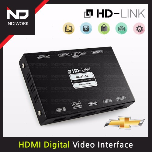[HD-LINK] IW03C-SB For Chevrolet (HDMI Digital Multi Video Interface)