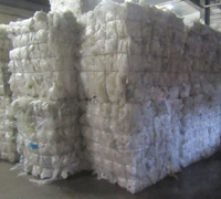 LDPE clear film - wash grade - baled