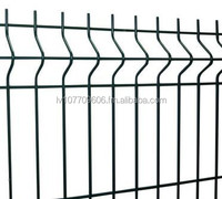 High quality powder coated panel fence