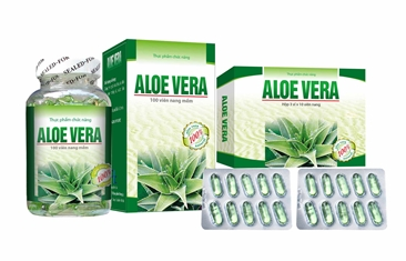 NEW ALOE VERA 2016 - Functional food, Help laxative, intestinal antiseptic, reduce stomach ulcers-