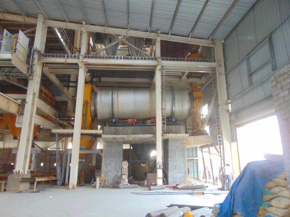 Dry Ready Mix Production