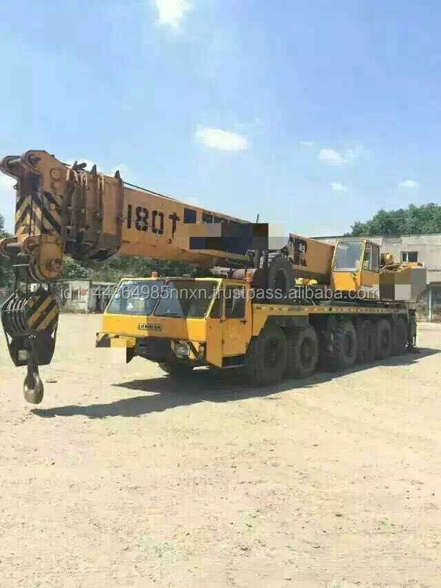 120 ton liebherr Germany original truck crane for sale in shanghai china