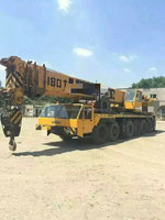 120 ton liebherr Germany original truck crane for sale